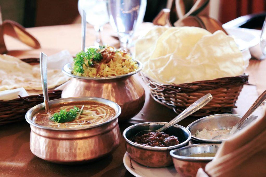 최고의 인도 음식점 3곳