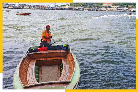 water taxi in Brunei 2020