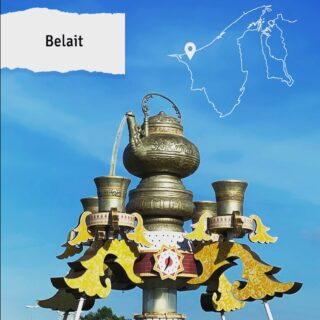 Belait is the largest district in Brunei and the heart of the country's oil and gas industry. One of the most iconic landmarks in the district is the teapot roundabout, a majestic structure with four teacups that were built to represent the four districts of Brunei. We hope to welcome you to this grand monument soon! Meanwhile, take care and stay safe, happy and healthy at home!  #discoverbrunei #travelgram #instatravel #travelasia #travelinspiration #travelphotography #travel #wanderlust #destinationearth #seetheworld #brunei